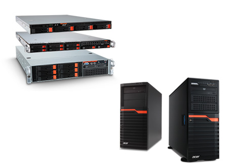 Acer servers